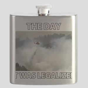 The Day it was Legalized Flask