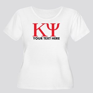 Kappa Psi Let Women's Plus Size Scoop Neck T-Shirt