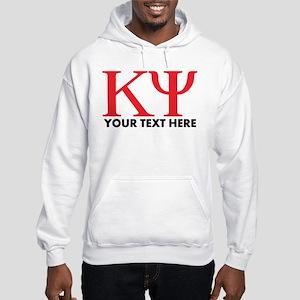 Kappa Psi Letters Personalized Hooded Sweatshirt