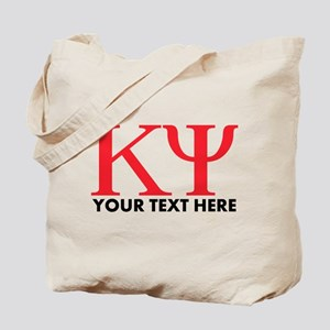 Kappa Psi Letters Personalized Tote Bag