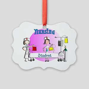 Nursing student BAG 1 Picture Ornament
