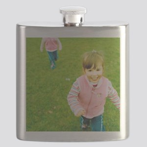 Identical twin girls Flask