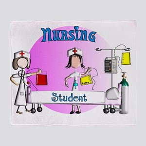 Nursing student BAG 1 Throw Blanket