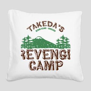 Revenge Camp Square Canvas Pillow