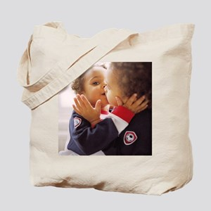 Identical twin boys Tote Bag