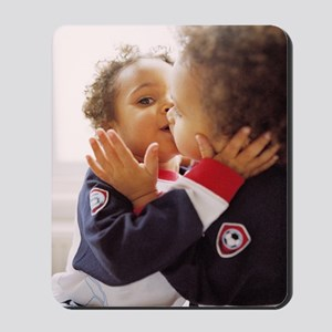Identical twin boys Mousepad