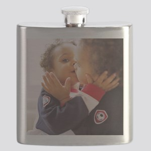 Identical twin boys Flask