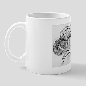 Illustration of pineal gland from Desca Mug