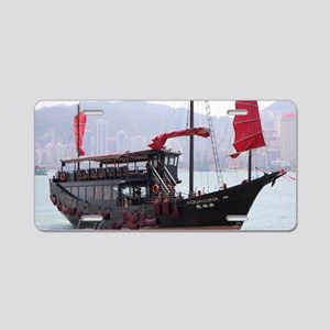 Chinese junk, Hong Kong Aluminum License Plate