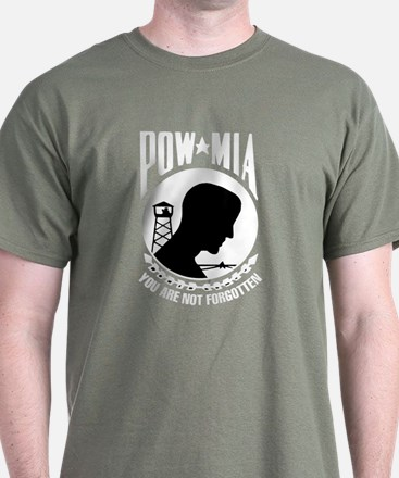 POW Black T-Shirt