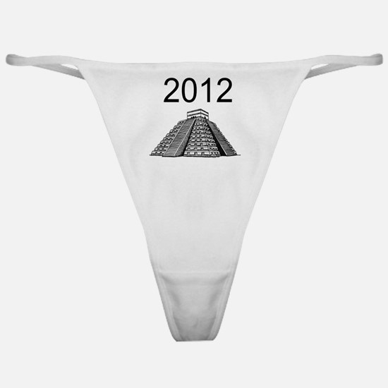 I survived 2012 Mayan apocalypse  12 Classic Thong