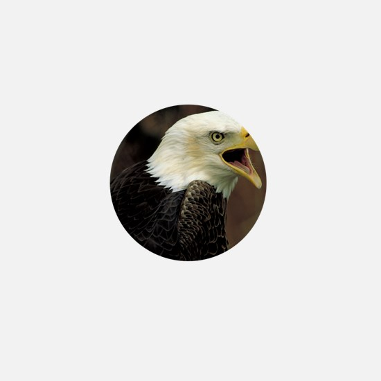Voiceful Bald Eagle Mini Button