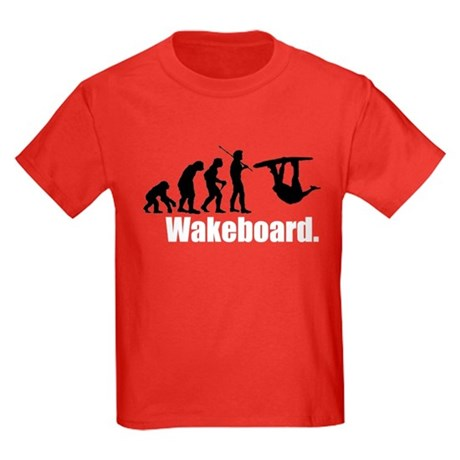 Wakeboarder's Evolution Kids Dark T-Shirt