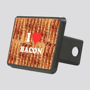 I love Bacon Rectangular Hitch Cover