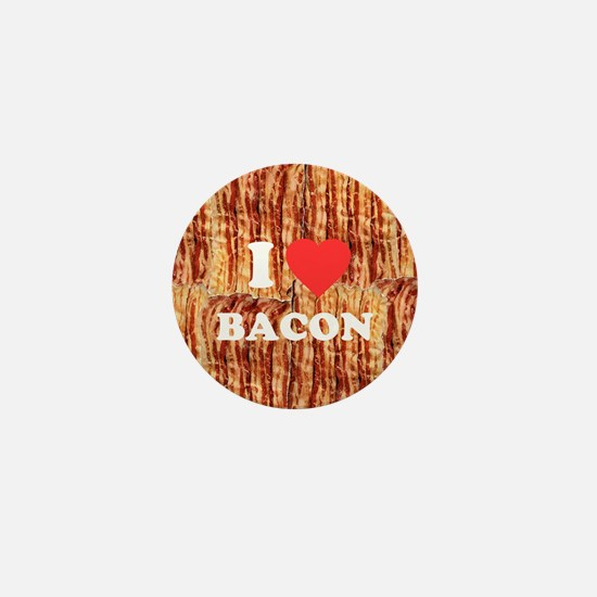 I love Bacon Mini Button