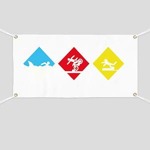 Triathlete Banner