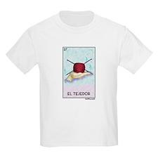 El Tejedor [for guy knitters] Kids Light T-Shirt