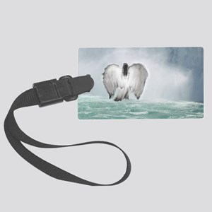 Angel walk Large Luggage Tag