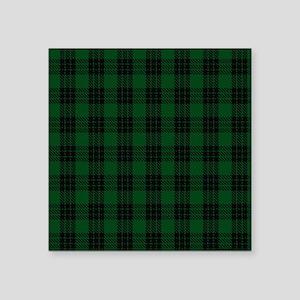 "Graham Celtic Tartan Plaid Square Sticker 3"" x 3"""