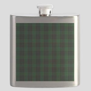 Graham Celtic Tartan Plaid Flask