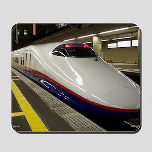 The Bullet Train Mousepad