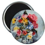 Yellow Daisies & Roses Magnet