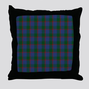 Ferguson Celtic Tartan Plaid Throw Pillow