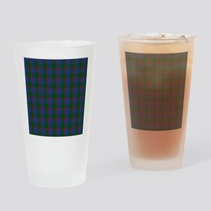 Ferguson Celtic Tartan Plaid Drinking Glass