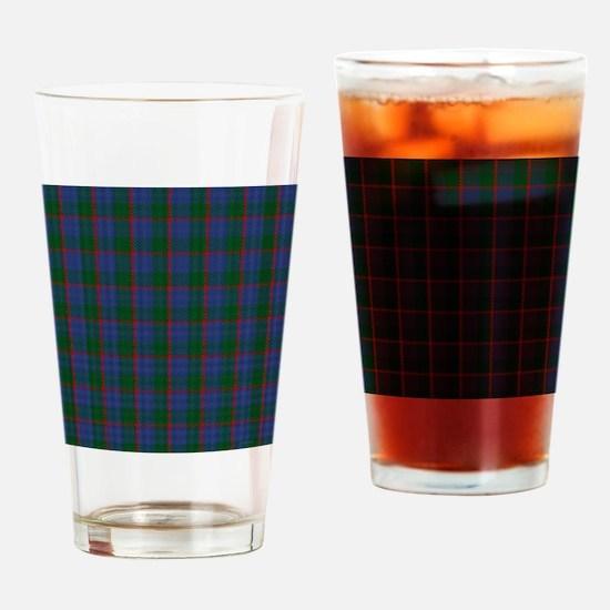 Ferguson Celtic Tartan Plaid Drinking Glass