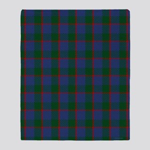 Ferguson Celtic Tartan Plaid Throw Blanket
