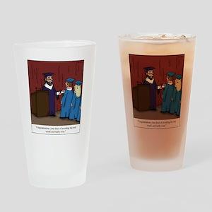 Avoiding Life Drinking Glass