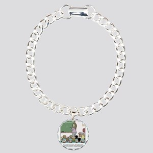 Using the Semicolon Charm Bracelet, One Charm