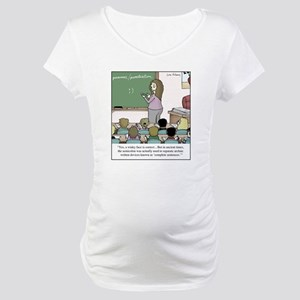 Using the Semicolon Maternity T-Shirt