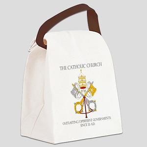 The Catholic Church Canvas Lunch Bag