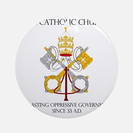 The Catholic Church Round Ornament