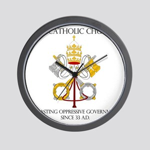 The Catholic Church Wall Clock