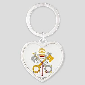 The Catholic Church Heart Keychain