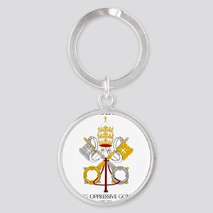 The Catholic Church Round Keychain