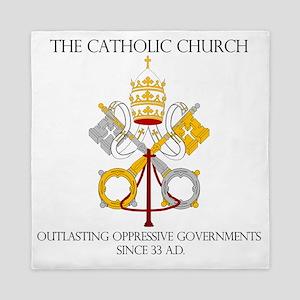 The Catholic Church Queen Duvet