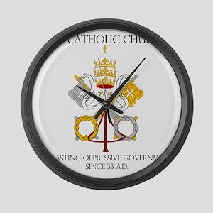 The Catholic Church Large Wall Clock