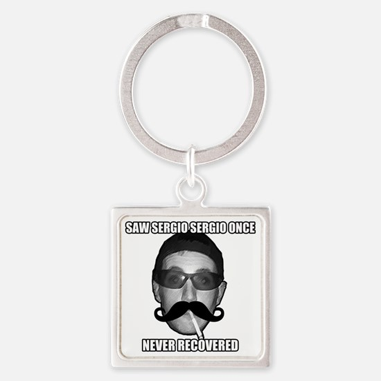 Divers Square Keychain