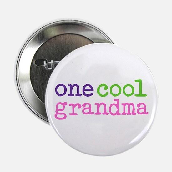 one cool grandma Button