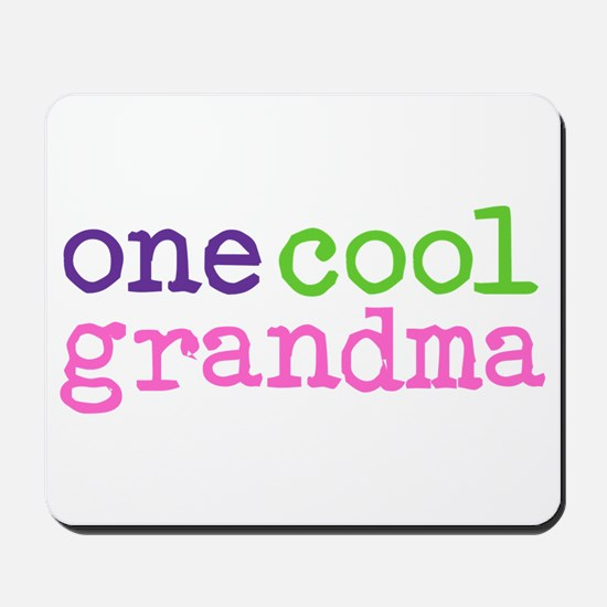 one cool grandma Mousepad