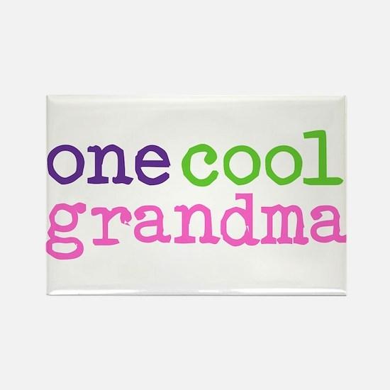 one cool grandma Rectangle Magnet