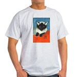 Siamese Kitten by Elsie Light T-Shirt