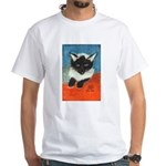 Siamese Kitten by Elsie White T-Shirt
