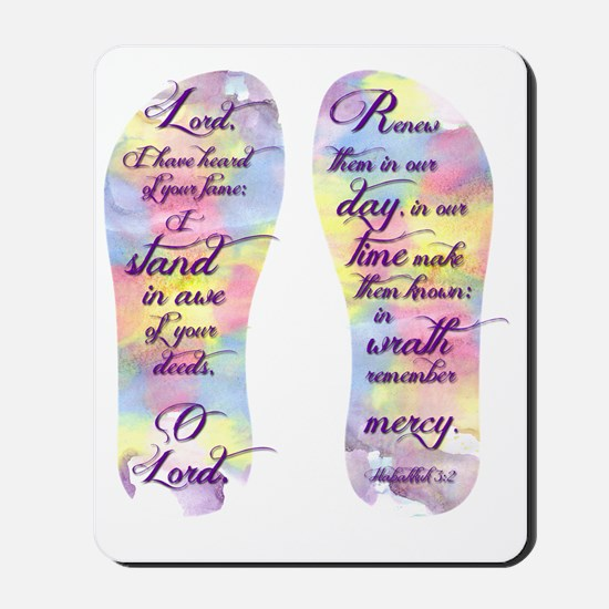 I stand in awe... - FlipFlops Mousepad
