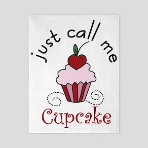 Just Call Me  Cupcake Twin Duvet