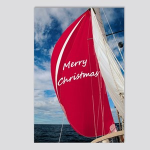 Christmas Spinnaker Postcards (Package of 8)