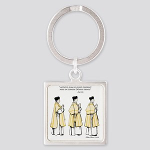 PS. 121 Square Keychain